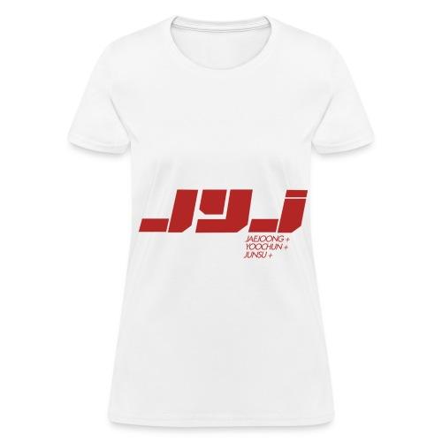 JYJ - Logo (Red) - Women's T-Shirt