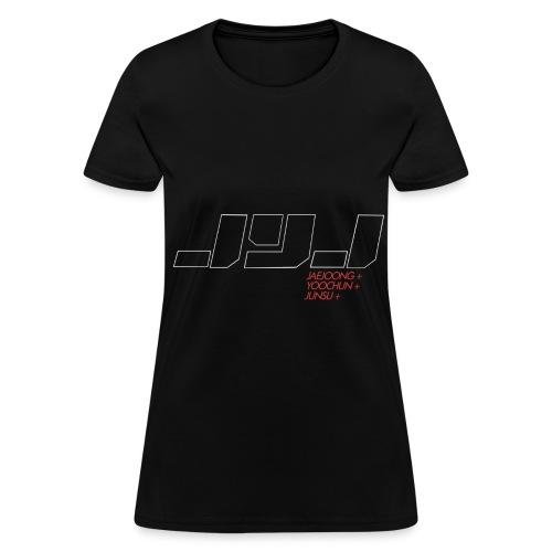 JYJ - Logo (White Outline) - Women's T-Shirt