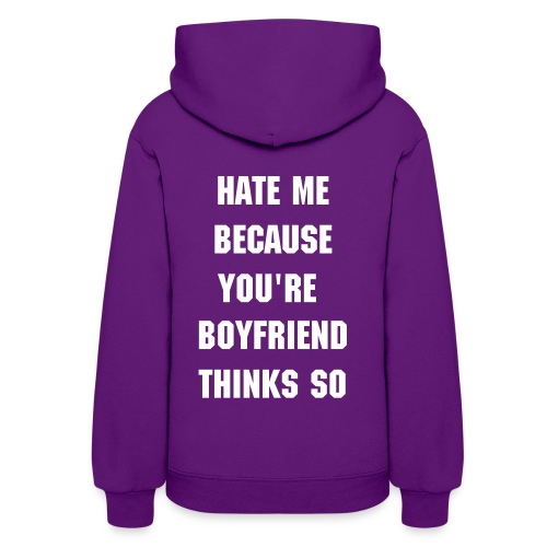 Hate Me I'm Beautiful (GIRL) - Women's Hoodie