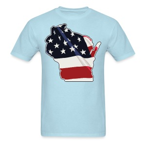 USA Wisconsin - Men's T-Shirt