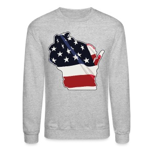 USA Wisconsin - Crewneck Sweatshirt