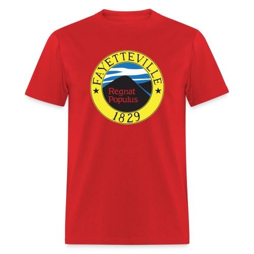 Fayetteville Flag - Regular Tee - Men's T-Shirt