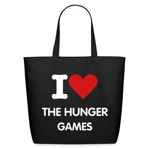 I Love The Hunger Games - Eco-Friendly Cotton Tote