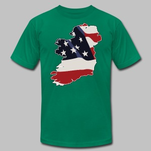 American Irish - Men's T-Shirt by American Apparel