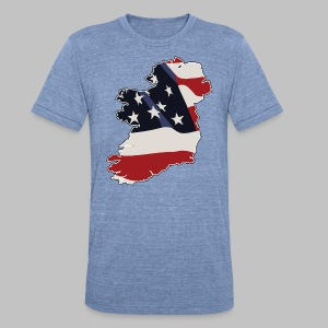 American Irish - Unisex Tri-Blend T-Shirt by American Apparel