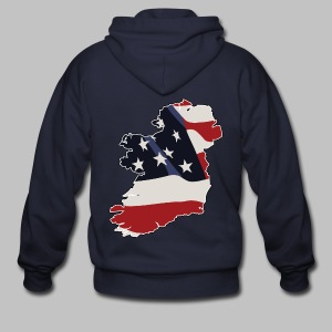 American Irish - Men's Zip Hoodie