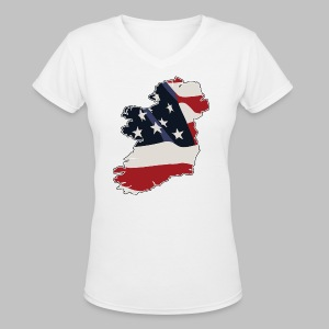 American Irish - Women's V-Neck T-Shirt