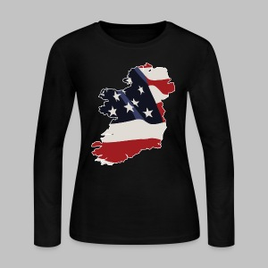 American Irish - Women's Long Sleeve Jersey T-Shirt