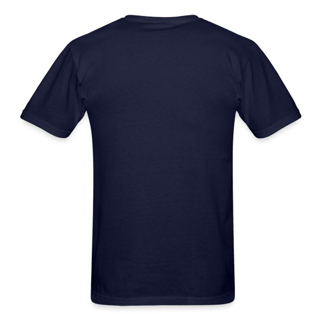 Men's Navy/White/Orange Stop The Wave Logo T-Shirt