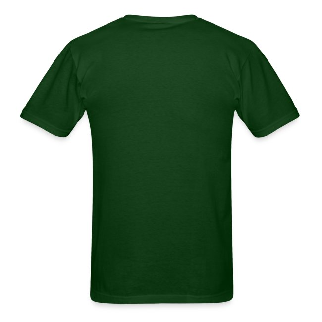 Men's Green/White/Yellow Stop The Wave Logo T-Shirt
