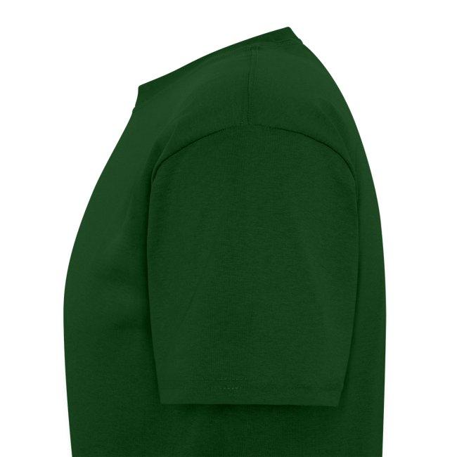 Men's Green/White/Yellow Stop The Wave Logo T-Shirt