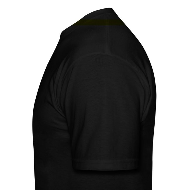 Men's Black/White/Yellow Stop The Wave Logo T-Shirt