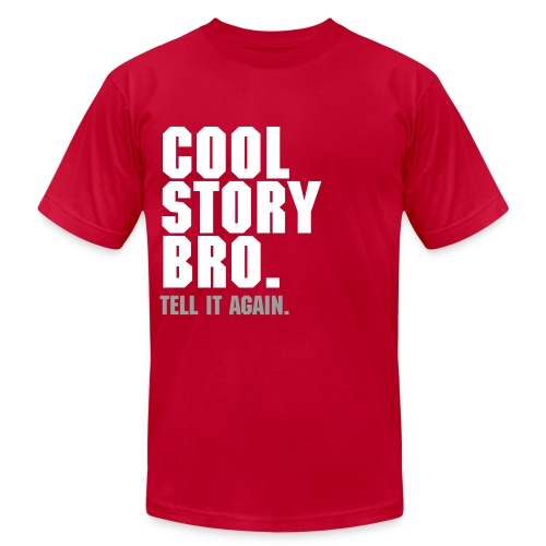 Cool Story.  - Men's Fine Jersey T-Shirt