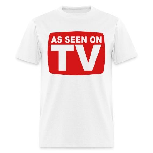 AS SEEN ON TV SHIRT - Men's T-Shirt