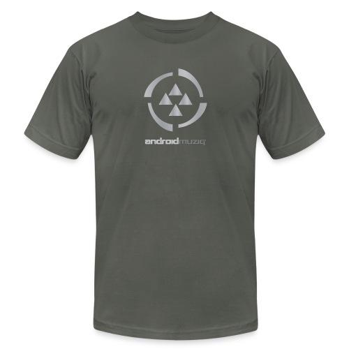 Android Muziq - Label T-Shirt ( Asphalt) - Men's  Jersey T-Shirt