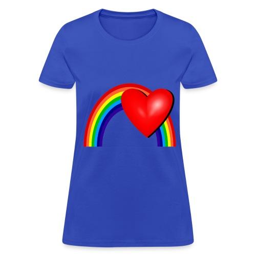 Rainbow Love - Women's T-Shirt