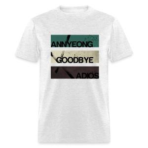 2NE1 - Annyeong Goodbye Adios - Men's T-Shirt