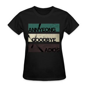 2NE1 - Annyeong Goodbye Adios - Women's T-Shirt
