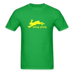 t-shirt rabbit bunny hare ears easter cute puss prey - Men's T-Shirt