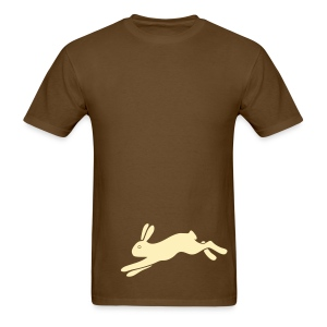 t-shirt rabbit bunny hare ears easter cute puss prey - Men's T-Shirt