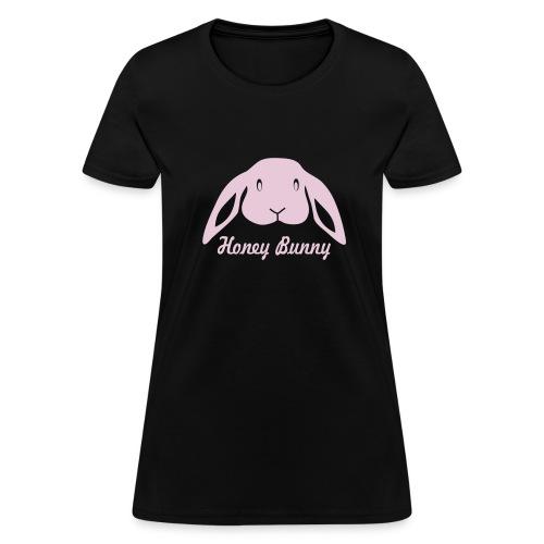 t-shirt rabbit bunny hare ears easter cute puss prey - Women's T-Shirt