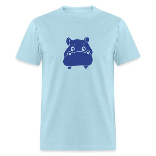 t-shirt hippo hippopotamus river horse afrika - Men's T-Shirt