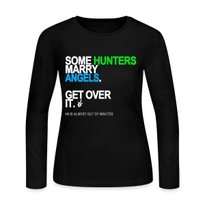 Some Hunters Marry Angels 2 Long Sleeve - Women's Long Sleeve Jersey T-Shirt