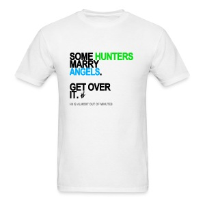 Some Hunters Marry Angels 2 Men's White - Men's T-Shirt