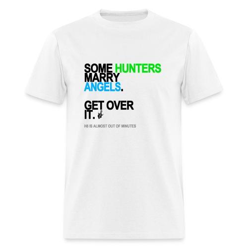 Some Hunters Marry Angels 2 Men's White - Men's T-Shirt