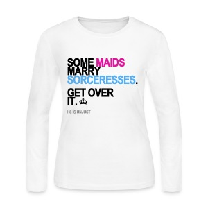 Some Maids Marry Sorceresses Tank White - Women's Long Sleeve Jersey T-Shirt
