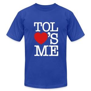 Yeah, we heart you! - Men's Fine Jersey T-Shirt
