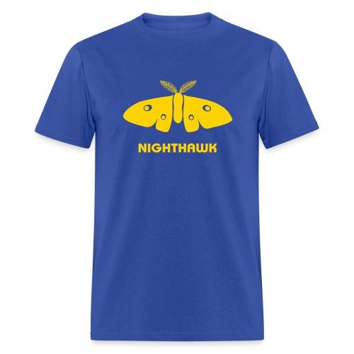 t-shirt moth butterfly nighthawk fly by night stag night - Men's T-Shirt
