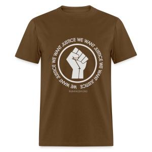 We Want Justice - Men's T-Shirt