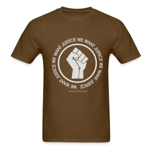 We Want Justice - Men's T-Shirt