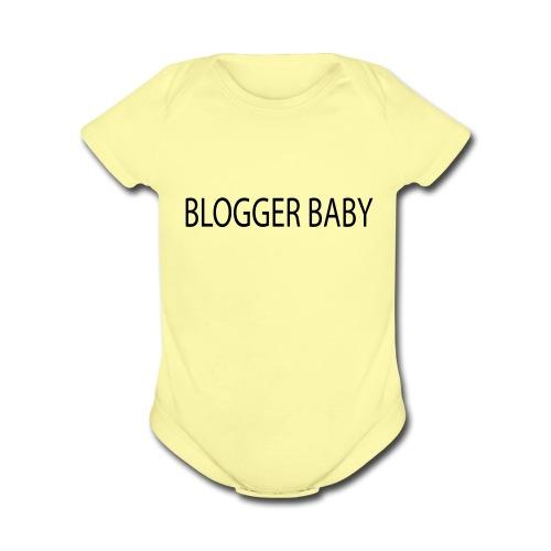 Blogger Baby - Organic Short Sleeve Baby Bodysuit