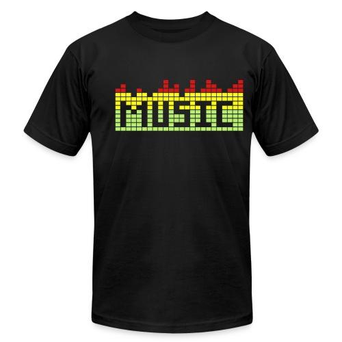 Music T-Shirt - Men's  Jersey T-Shirt