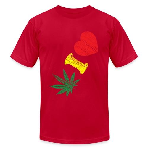 Weed T-Shirt - Men's Fine Jersey T-Shirt
