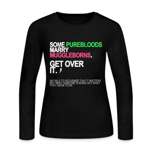Some Purebloods Marry Muggleborns Long Sleeve - Women's Long Sleeve Jersey T-Shirt