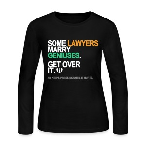 Some Lawyers Marry Geniuses Long Sleeve - Women's Long Sleeve Jersey T-Shirt
