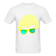 T-Shirts ~ Men's T-Shirt ~ Yellow Glasses; MENS.