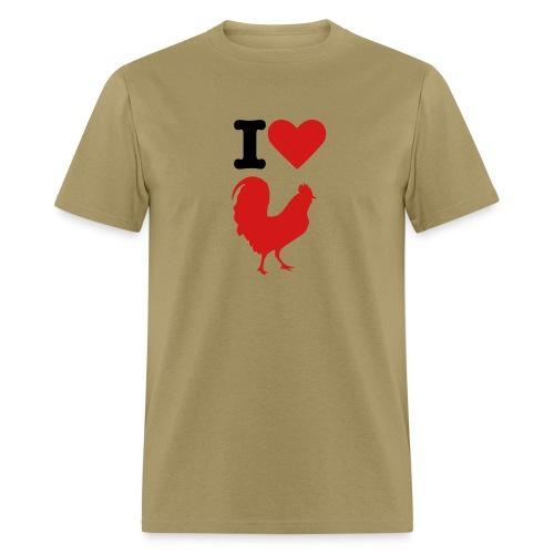 I love cock - Men's T-Shirt