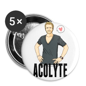 Sebastian Roché [Acolyte] (DESIGN BY MICHELLE) - Large Buttons