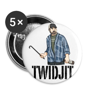 Jim Beaver [Twidjit] (DESIGN BY MICHELLE) - Large Buttons