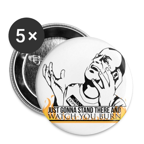 Hello My Name is Kripke (DESIGN BY MICHELLE) - Large Buttons
