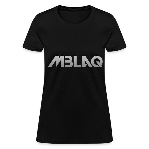MBLAQ - Logo (Grey) - Women's T-Shirt