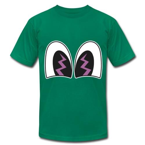 OTHER - Pancoat Style Eyes w/ Lightning - Men's Fine Jersey T-Shirt
