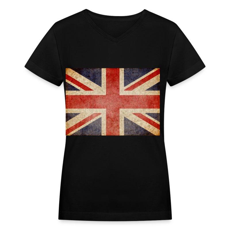 Faded Uk Flag T Shirt Spreadshirt
