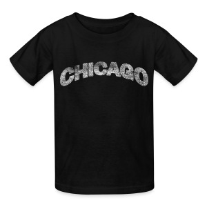 Distressed Chicago Arch - Kids' T-Shirt