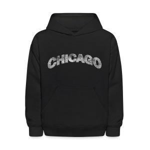 Distressed Chicago Arch - Kids' Hoodie
