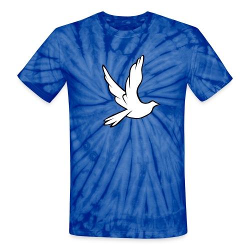 tye dye dove - Unisex Tie Dye T-Shirt